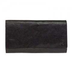 Dámská kožená peněženka LAGEN LN-55416-M1 černá č.1