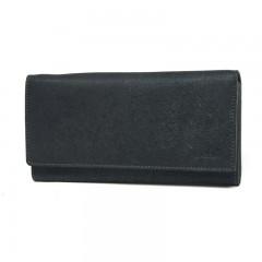 Dámská kožená peněženka LAGEN V-13/W černá č.1