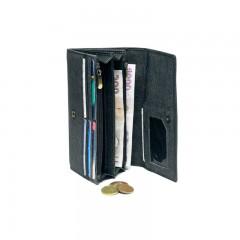 Dámská kožená peněženka LAGEN V-13/W černá č.2