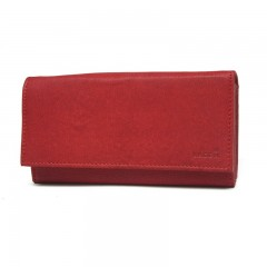 Dámská kožená peněženka LAGEN V-13/W červená č.1