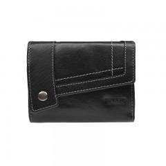 Dámská kožená peněženka LAGEN 14044/T černá č.1