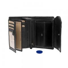 Dámská kožená peněženka LAGEN 14044/T černá č.2