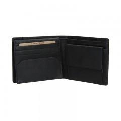 Pánská kožená peněženka LAGEN 9114 černá č.2