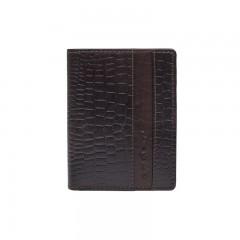 Pánská kožená peněženka LAGEN 4019NC hnědá č.1