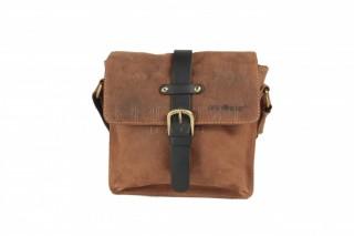 Kožená taška Greenburry 1757AM-25 hnědá č.1