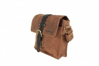Kožená taška Greenburry 1757AM-25 hnědá č.2