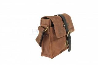 Kožená taška Greenburry 1757AM-25 hnědá č.3