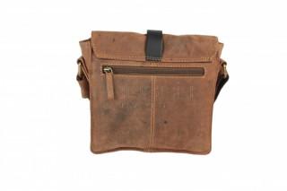 Kožená taška Greenburry 1757AM-25 hnědá č.4