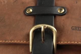 Kožená taška Greenburry 1757AM-25 hnědá č.5