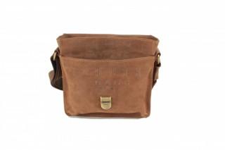 Kožená taška Greenburry 1757AM-25 hnědá č.7