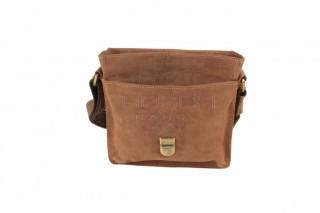 Kožená taška Greenburry 1757AM-25 hnědá č.8