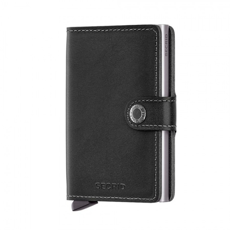 Miniwallet Secrid Original Black