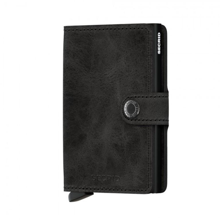 Miniwallet Secrid Vintage Black