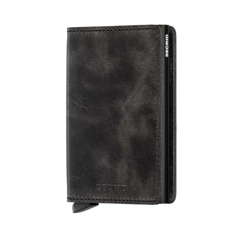 Slimwallet Secrid Vintage Black