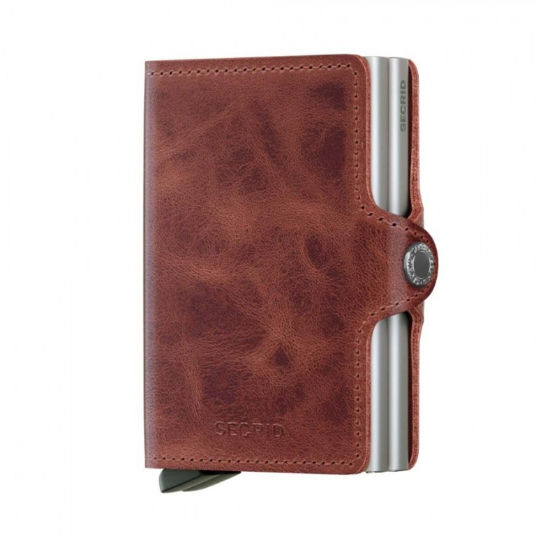 Twinwallet Secrid Vintage Brown