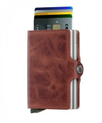 Twinwallet Secrid Vintage Brown č.2
