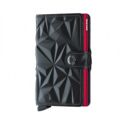 Miniwallet Secrid Prism Black-Red č.1