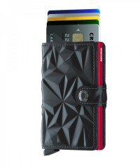 Miniwallet Secrid Prism Black-Red č.2