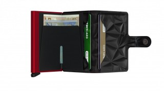 Miniwallet Secrid Prism Black-Red č.3
