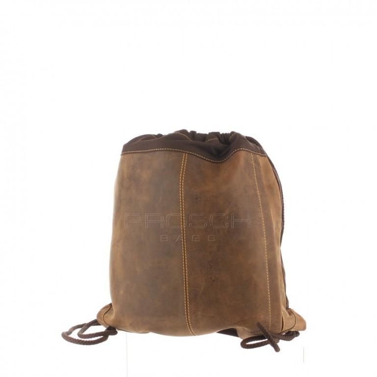 Kožený batoh Greenburry Vintage Gym-bag 1673-25