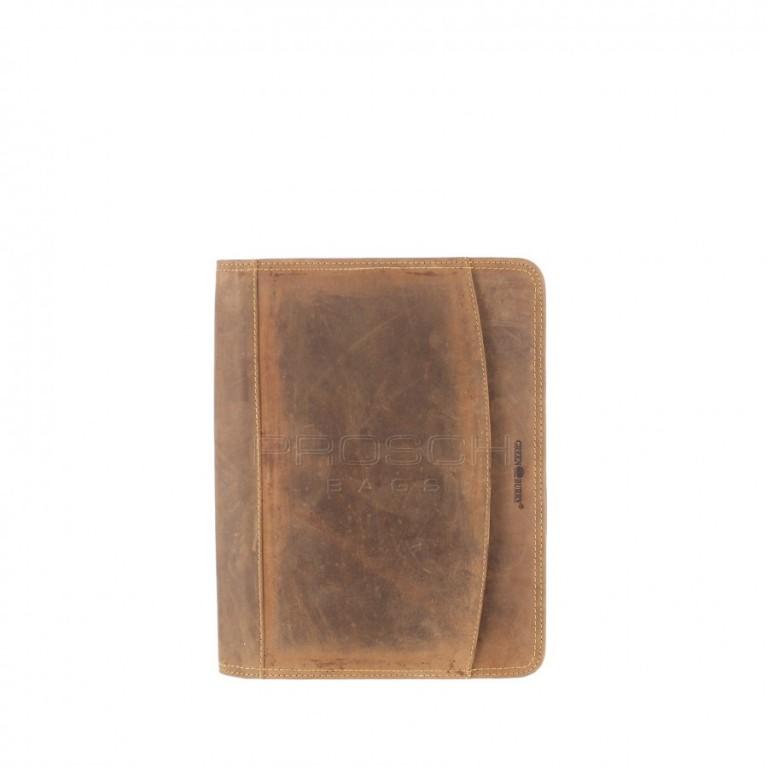 Kožená spisovka Greenburry 1721-25 hnědá