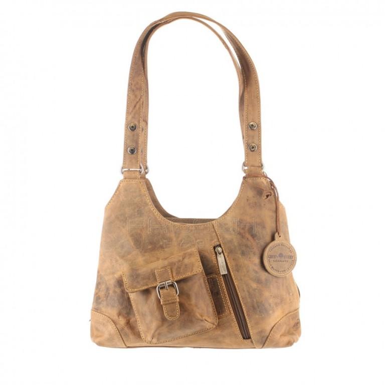 Kožená taška Greenburry 1917-25 hnědá