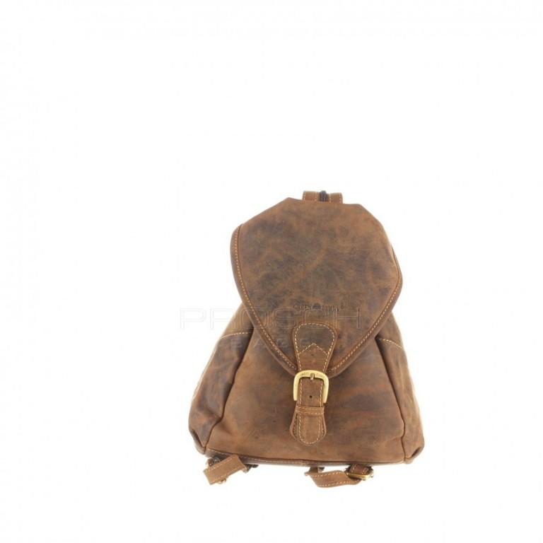 Kožený batoh Greenburry 1716-25 hnědý