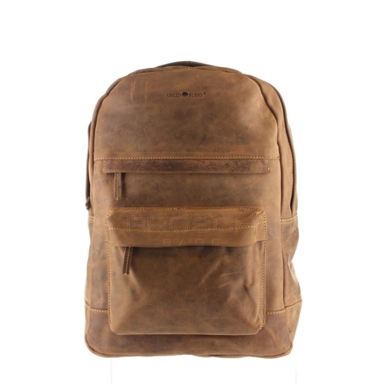 Kožený batoh Greenburry ntb 1691-25 hnědý