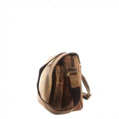 Kožená taška Greenburry 1766-25 hnědá č.4