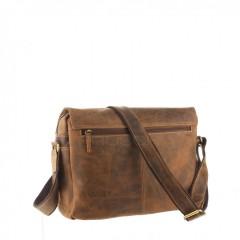 Kožená taška Greenburry 1766-25 hnědá č.5