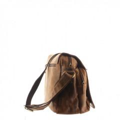 Kožená taška Greenburry 1766-25 hnědá č.6