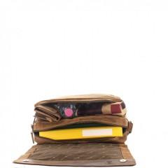 Kožená taška Greenburry 1766-25 hnědá č.2