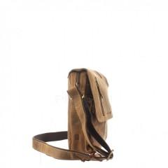 Kožená taška Greenburry Revolver Bag 1694-25 hnědá č.6
