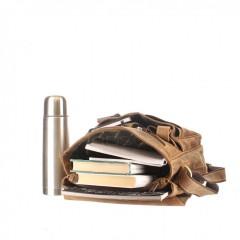 Kožená taška Greenburry 1729-25 hnědá č.7