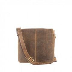 Kožená taška Greenburry 1729-25 hnědá č.1