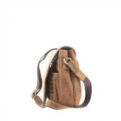 Kožená taška Greenburry 1729-25 hnědá č.2