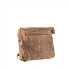 Kožená taška Greenburry 1729-25 hnědá č.3