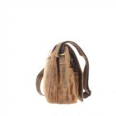 Kožená taška Greenburry 1729-25 hnědá č.4