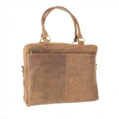Kožená taška Greenburry 1830-25 hnědá č.3