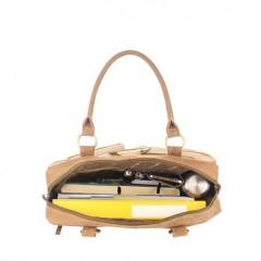 Kožená taška Greenburry 1830-25 hnědá č.7