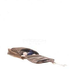 Kožená kosmetická taška Greenburry 1735-25 hnědá č.6