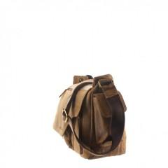 Kožená taška Greenburry Hunting 1763AM-25 hnědá č.2