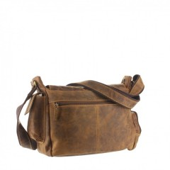 Kožená taška Greenburry Hunting 1763AM-25 hnědá č.3