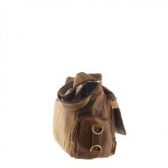 Kožená taška Greenburry Hunting 1763AM-25 hnědá č.4