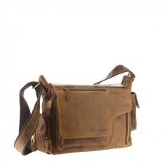 Kožená taška Greenburry Hunting 1763AM-25 hnědá č.5
