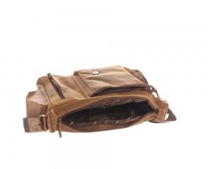 Kožená taška Greenburry Hunting 1763AM-25 hnědá č.7
