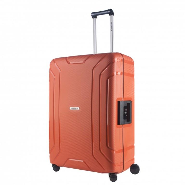 Velký cestovní kufr CarryOn Steward oranžový