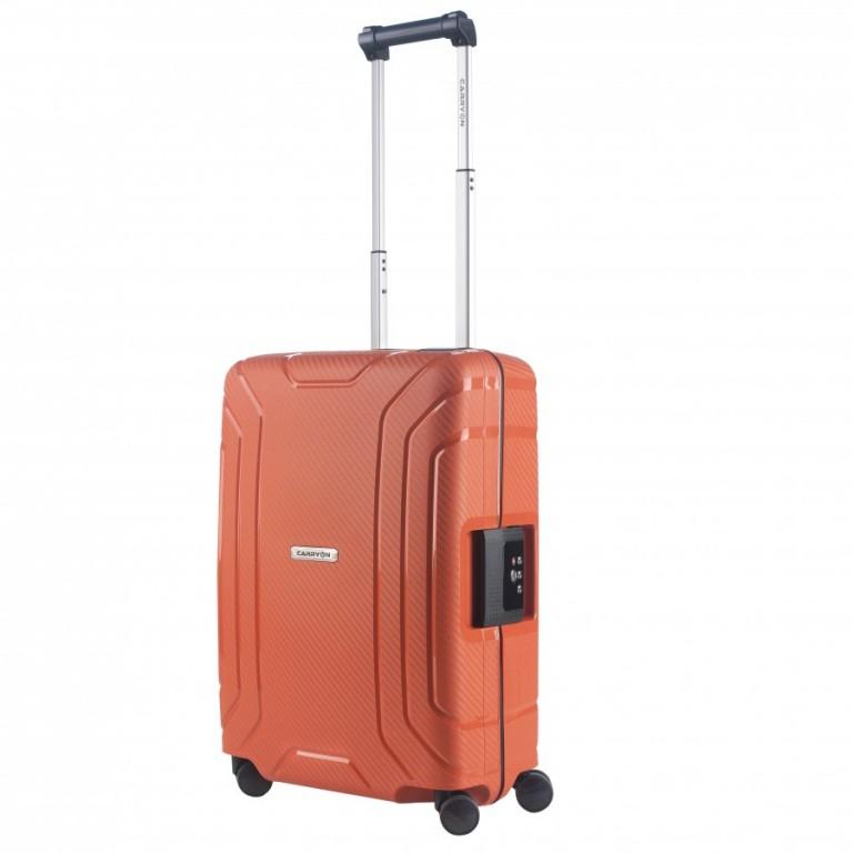 Kabinový cestovní kufr CarryOn Steward oranžový