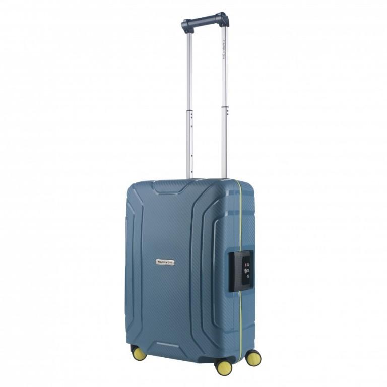 Kabinový cestovní kufr CarryOn Steward modrý