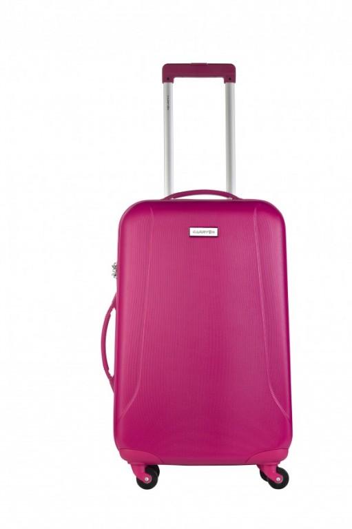 Střední cestovní kufr CarryOn Skyhopper růžový
